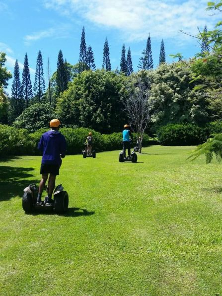 Segway Hawaii Botanical Gardens