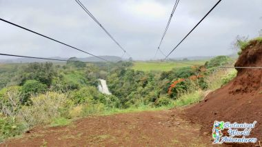Zipline Waterfalls